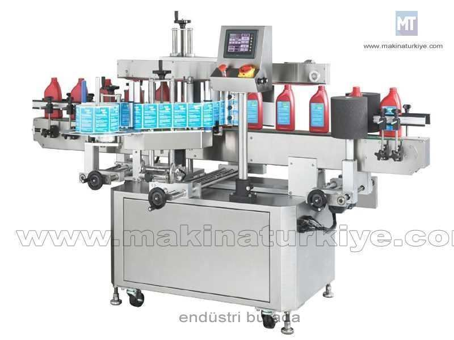 İki Yönlü Etiketleme Makinası