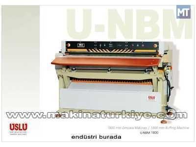 1800 Mm  Ham Deri Zımpara Makinesi