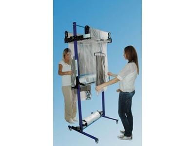 Floktek Cym 09 Çift Yönlü Elbise Paketleme Makinesi