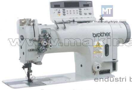 Brother T-8421 B Direct Drive Çift İğne Dikiş Makinesi Brother T-8421 B