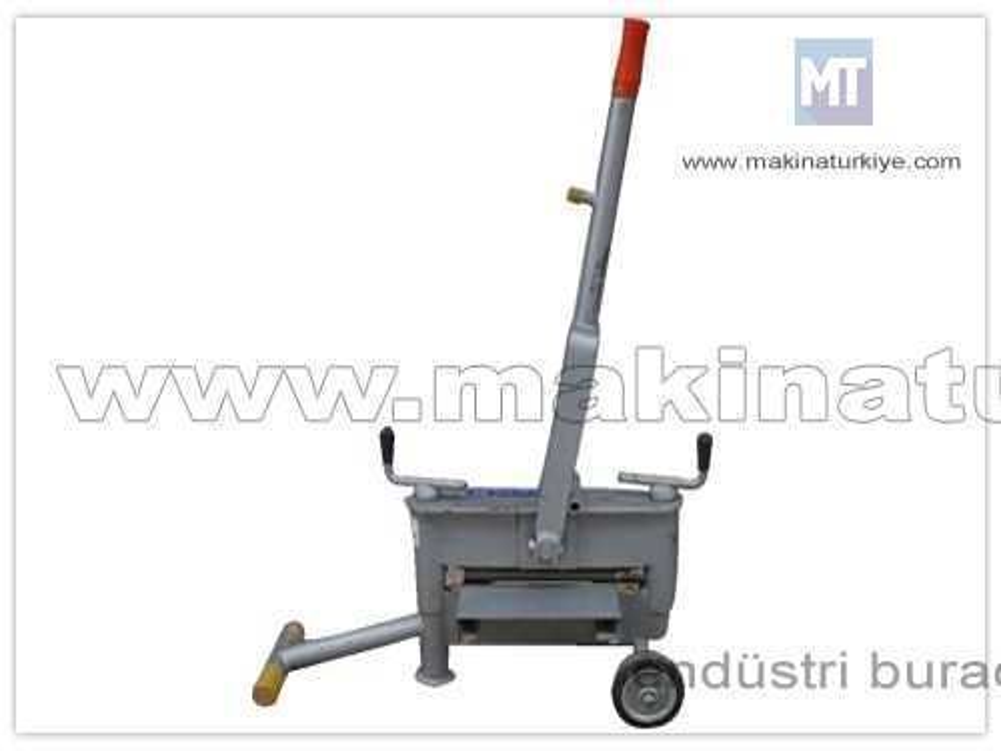 Parke Taşı Kesme Makinası / Özer Ö-Ptkm-001