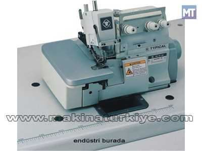 Typical Gn2000-3e 3 İplik Eşarp Kenarı Overlok