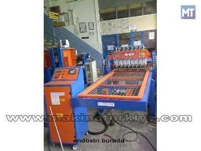 Kanepe Alt Izgaralarını Puntalama Makinası / Akdeniz A-Öpkm-004