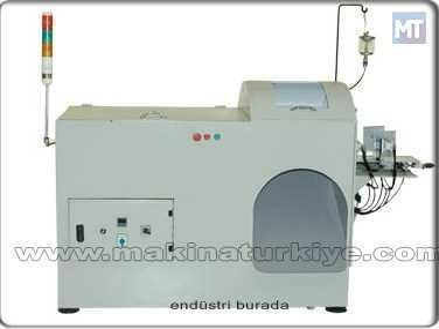 Sütyen Süngeri Kesme Makinası / Metes M-Skm-001