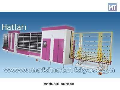 Obym 2000 /6 Pnömatik Panel Presli Cam Yıkama Hattı