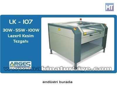 Lazerli Kesim Tezgahı - 3 Eksenli 100w  ( 160 X 140 Cm )