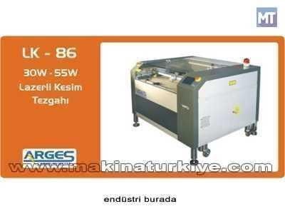 Lazerli Kesim Tezgahı - 30 W ( 80 X 60 Cm )