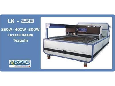 Lazerli Kesim Tezgahı ( 250 X 130 Cm ) Arges LK - 2513 500W