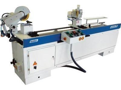 Otomatik Çift Köşe Kesim Ve Delik Delme Makinası / Alumaster Alm 200