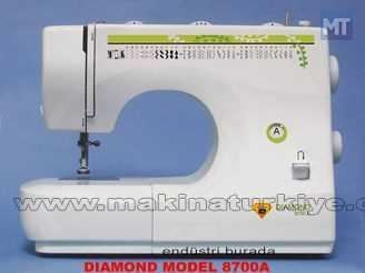 Diamond 8700A 32 Program Dikiş Nakış Piko Makinesi