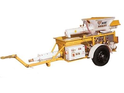 Hazır Sıva Makinası / Ase Duojet