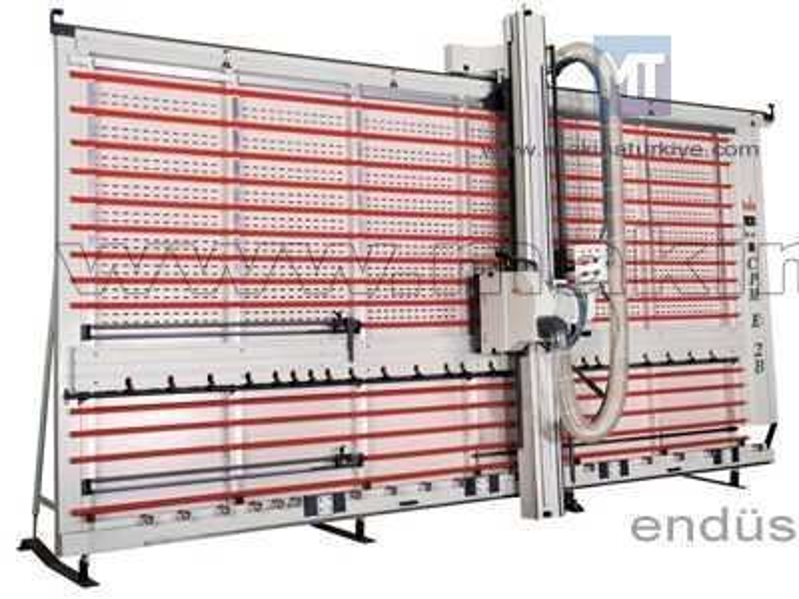Kompozit Panel Kesim Ve Kanal Açma Makinesi / Bala Cpme 2b 20x40