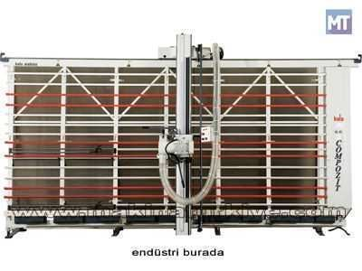 Kompozit Panel Kesim Ve Kanal Açma Makinesi / Bala Cpm 20x40
