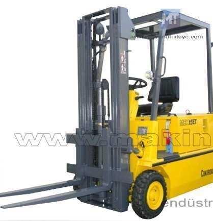 Tekerlekli Akülü Forklift ( 1,5 Ton )
