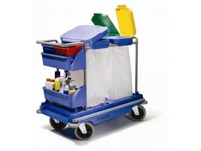 Kat Temizik Ve Çöp Toplama Arabası