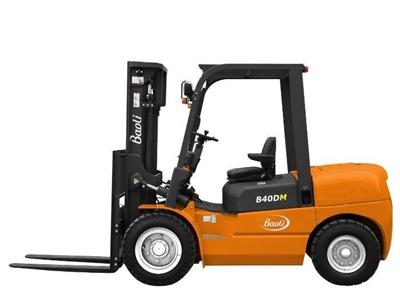 4 Ton Dizel Forklift Baoli