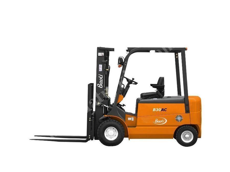 3 Ton Akülü Forklift Baoli