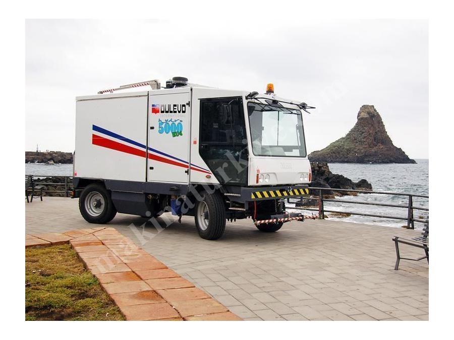 Yol Yıkama Aracı 200 Bar / Dulevo 5000 Hydro
