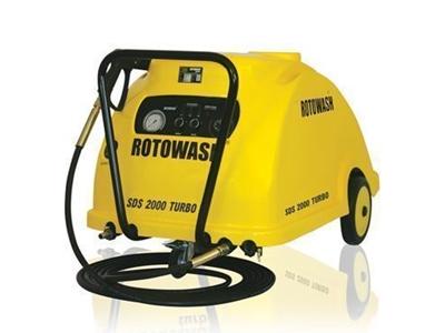 Rotowash Sıcak Soğuk Tetiksiz Yüksek Basınçlı Yıkama Makinesi