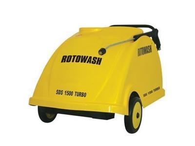 Rotowash Sıcak Soğuk Monofaze Tetikli Basınçlı Yıkama Makinesi