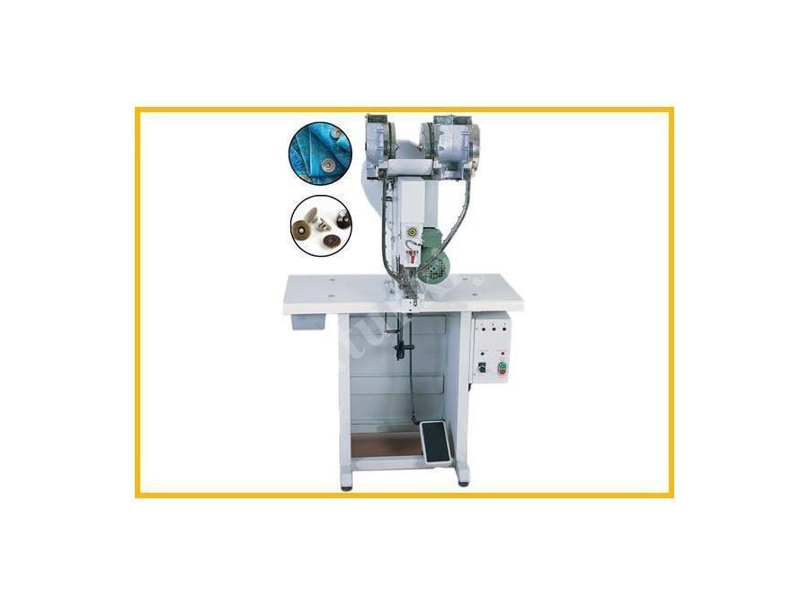 Otomatik Düğme Çakma Makinesi