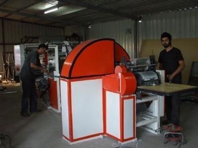 2, 3, 4 Renk Dipsiz Poşet Kese Kağıdı Makinesi