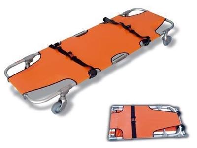 Tekerlekli Katlanır Sahra Sedye / Erdaş E-Tks 001
