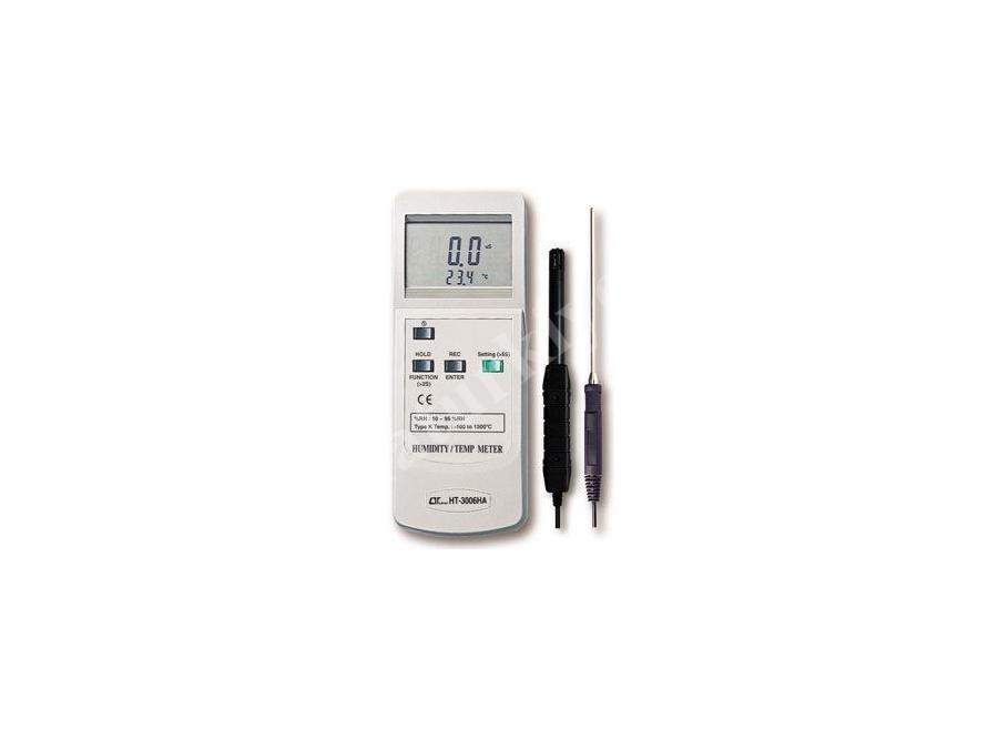 Digital Sıcaklık Ve Nem Ölçme Cihazı / Lutron Ht-3006ha