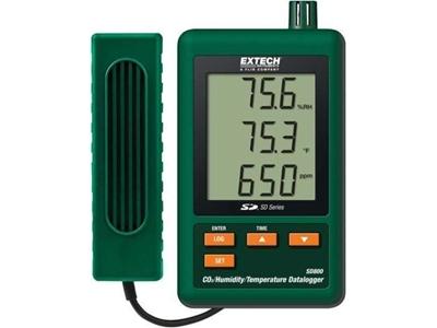 Extech Instuments Sd800 Sıcaklık, Nem Ve Co2 Kayıt Cihazı