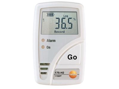 Testo 175-H2 Sıcaklık Nem Kayıt Cihazı