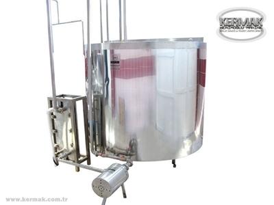 Süt Pişirme Kazanı - 100-5.000 LT arası İmalat