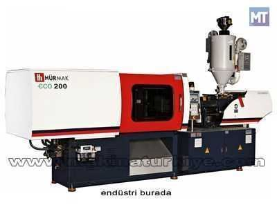Hürmak Eco200 Plastik Enjeksiyon Makinesi