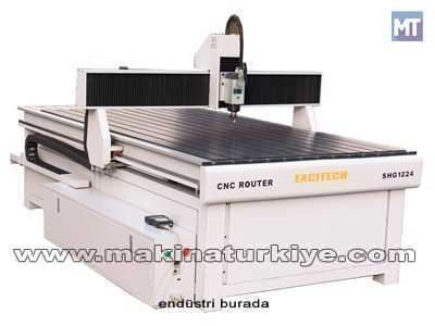 Cnc Router Sistemi / Excitech Shg 1224d 1