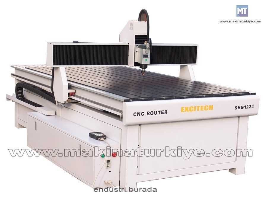 Cnc Router Sistemi / Excitech Shg 1224d