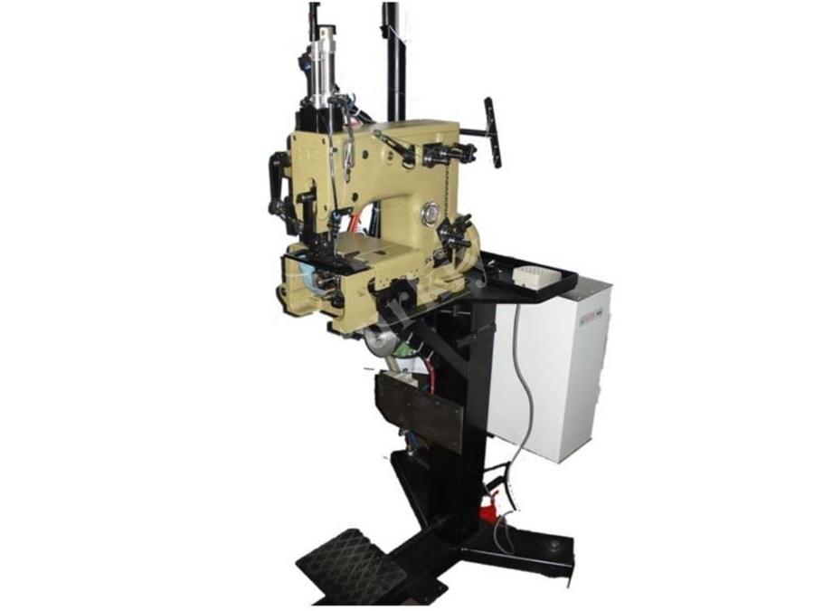 Elektronik Motorlu Vakumlu Kesmeli  Dikiş Makinası Sistemi