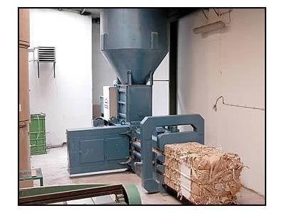 Yatay Kağıt ve Atık Balya Presi - 70 x 70 cm