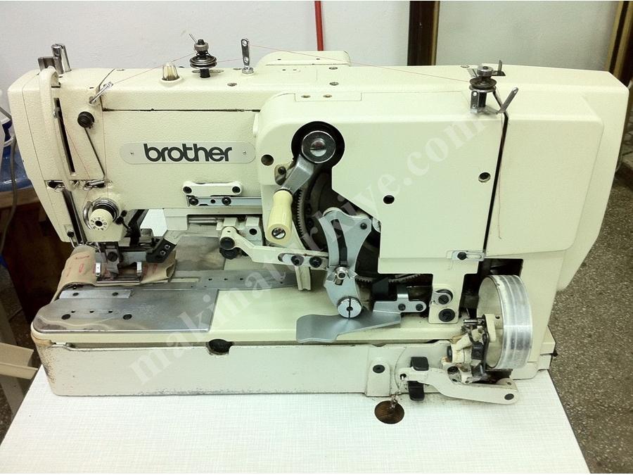Brother Lh4-814-2 Plastik Kapak İlik Makinası