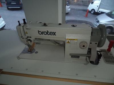 Brotex Çift Papuç Tek İğne Deri Makinesi