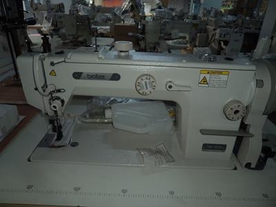 Brotex Çift Papuç Tek İğne 11mm Deri Makinası