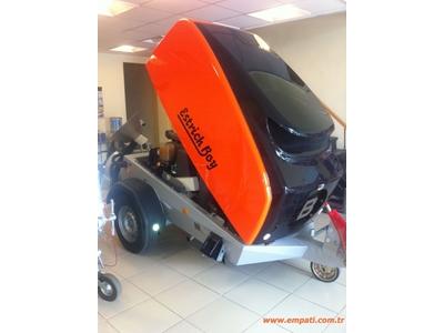 Dizel Motor Şap Makinası Brinkmann Dc 550