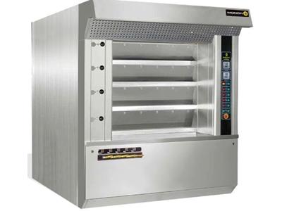 4 Katlı Pasta Ekmek Fırını Pişirme Alanı 5 m2 Manofi Mmkf 50