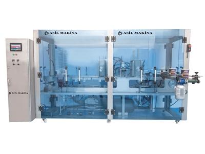 Plastik Kaseye Sıvı Dolum Makinası ( 2800 Adet / h )