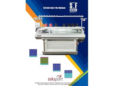 Taraklı Multigauge Triko Örgü Makinesi Sf System