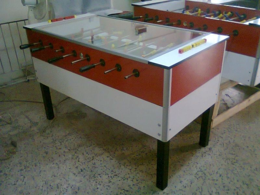 Camlı Langırt Masası Mekanik
