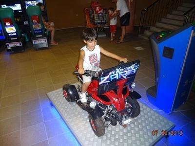 Atv Motor Çocuk Oyun Makinası
