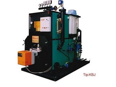 500 kg /saat Buhar Kapasiteli Kompakt Buhar Jeneratörü
