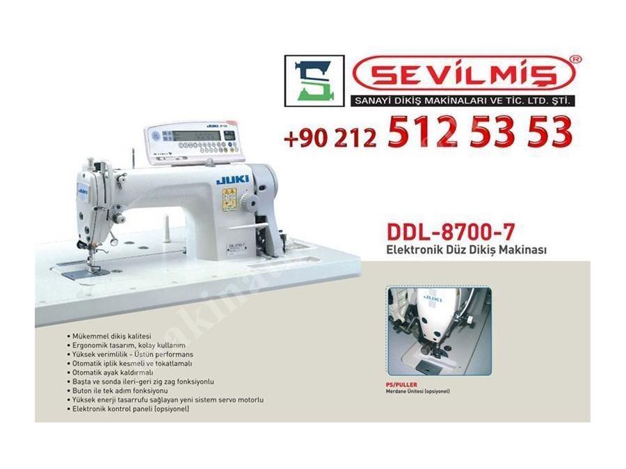 Ddl-8700-7  Juki  Düz Dikiş Makina