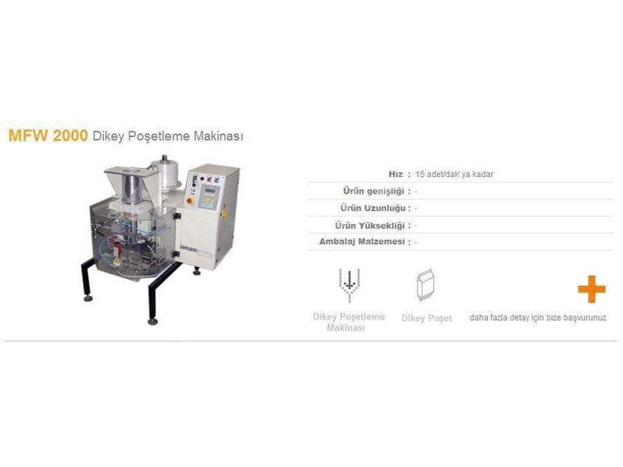 Dikey Poşetleme Makinası  ( 15 Paket/Dak )