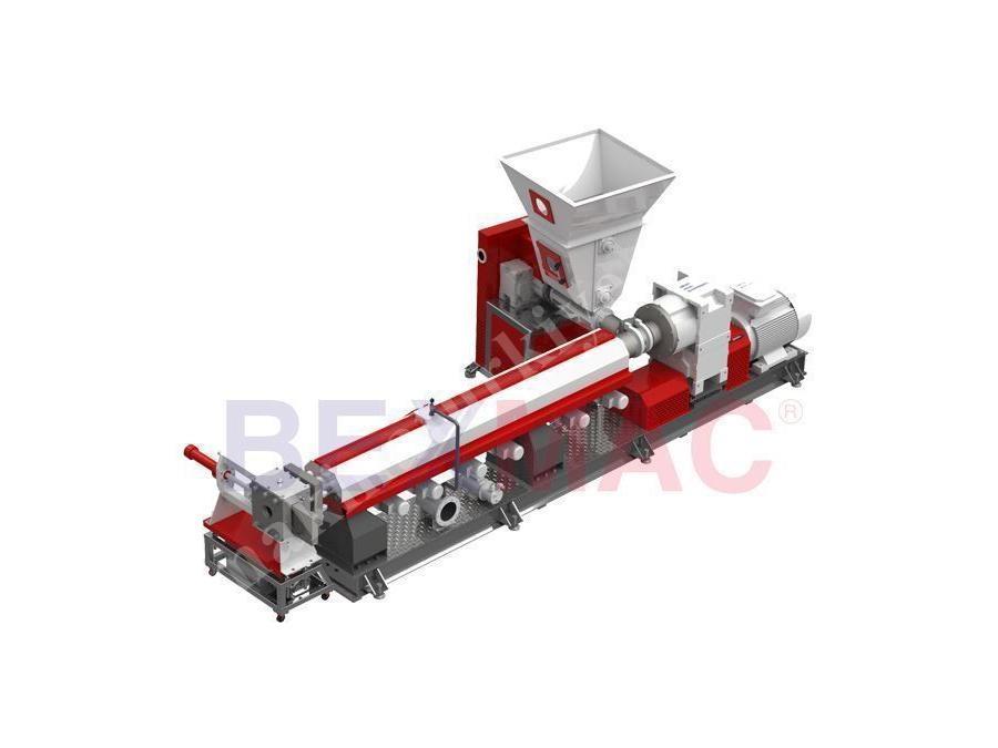 Plastik Extruder (Granül) Makinesi ( 100-150 Kg/Saat )