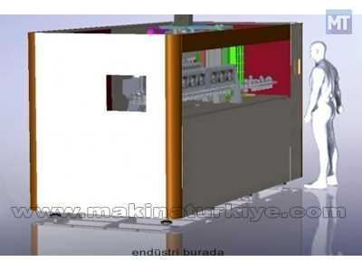 Pet Şişe Şişirme Makinası ( 2000 Şişe/Saat )